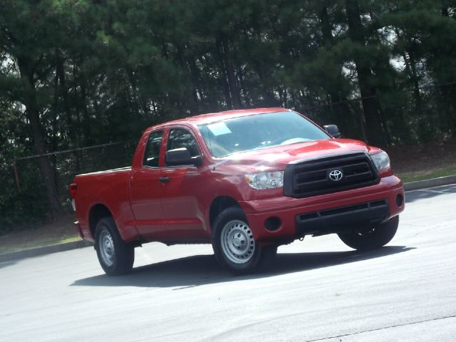 2011 TOYOTA TUNDRA TUNDRA-GRADE DOUBLE CAB 46L 2 red nice work truck very reliable cd player