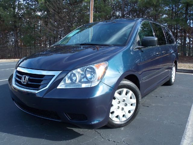 2010 HONDA ODYSSEY LX blue low miles cd player 3rd row seating dual airbags a must see vehicle