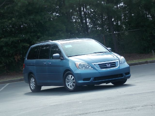 2008 HONDA ODYSSEY EX-L blue leather interior multi-disk changergreat vehicle for a family with