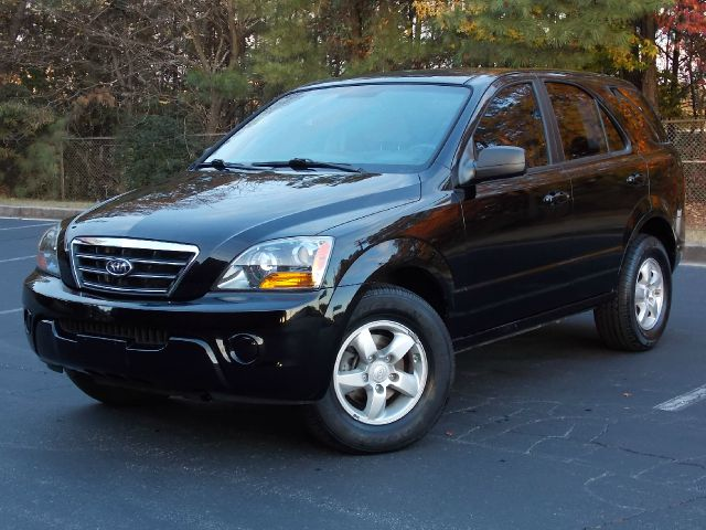 2007 KIA SORENTO LX 2WD black great spacious suv with black exterior and beige cloth interior pow