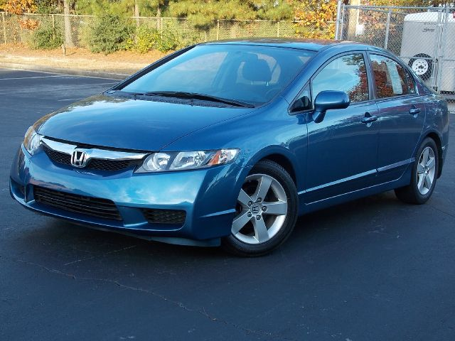 2009 HONDA CIVIC LX-S SEDAN 5-SPEED AT blue civic lx-s sedan with alloy wheels and almost new tire