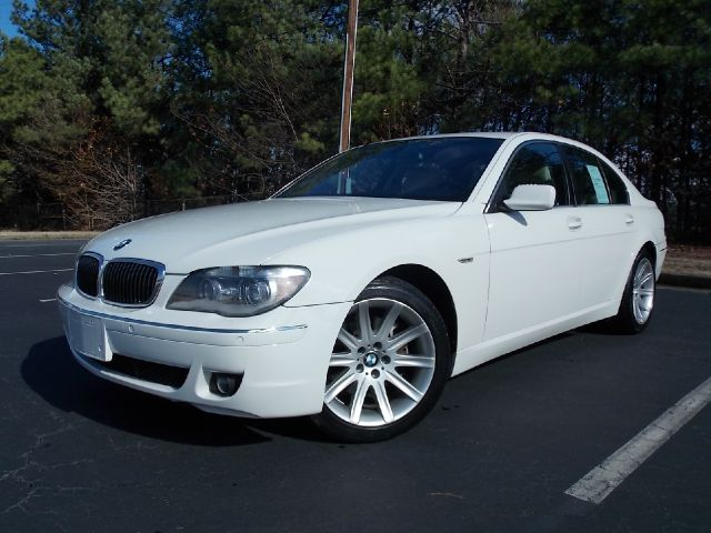2006 BMW 7 SERIES 750I white luxurious 2006 bmw 750i with great features such as navigation memor