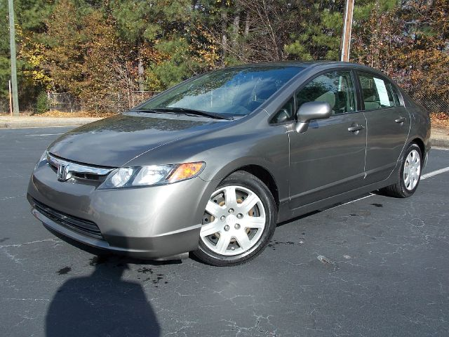 2008 HONDA CIVIC LX SEDAN AT gray gas saver 2008 honda civic with side air bags power locks pow
