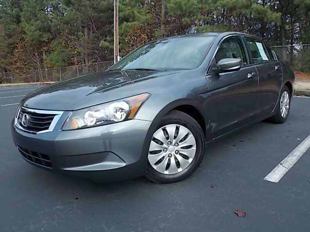2010 HONDA ACCORD LX SEDAN AT gray 2010 honda accord sedan it features anti-lock brakes cruise c