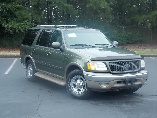 2000 FORD EXPEDITION EDDIE BAUER 2WD green leather interior multi disc6 cd player cruise contro