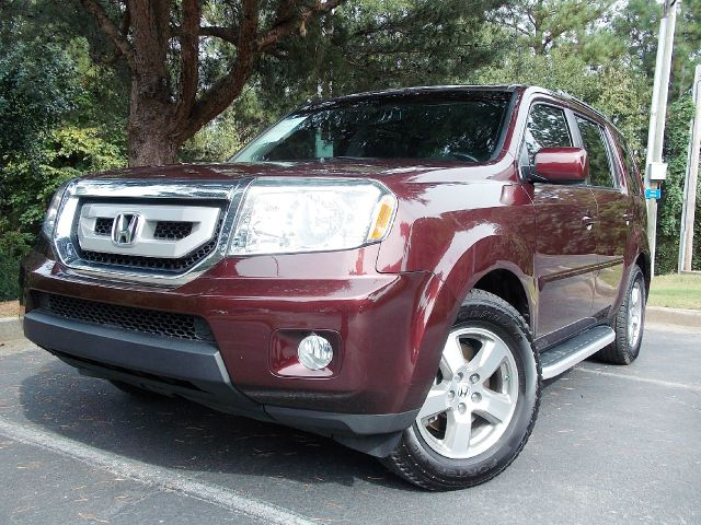2010 HONDA PILOT EX-L 2WD 5-SPD AT maroon leather seats heated seats sunroof well maintained wi