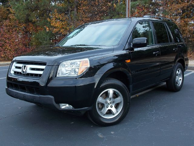 2006 HONDA PILOT EX W LEATHER AND DVD black dvd entertainment system leather interior front hea