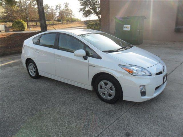2010 TOYOTA PRIUS 5DR HB I HATCHBACK white leather interior navigation system push-button start