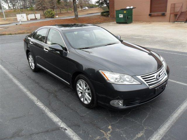 2010 LEXUS ES 350 SEDAN grey navigation system back-up camera bluetooth hands free system hid x