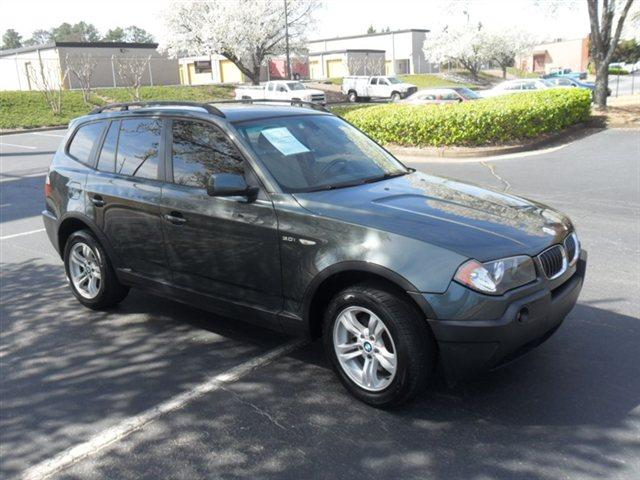 2005 BMW X3 30I highland green metallic leather interior panoramic roof a must see vehicle pow