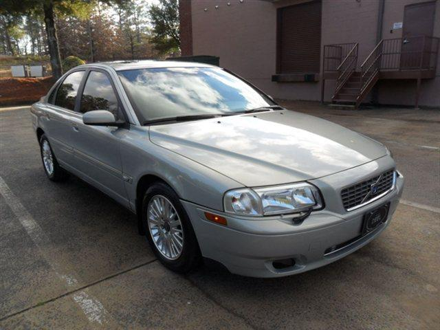 2004 VOLVO S80 4DR SDN 29L SEDAN crystal green metallic leather sunroof heated seats cd-cassett