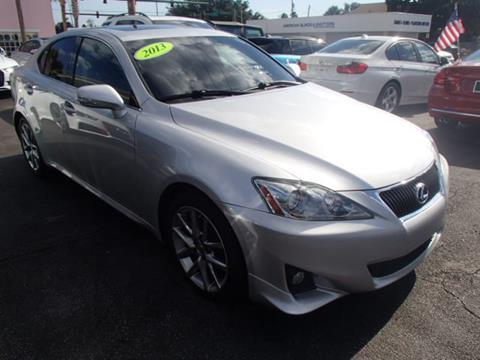 2013 Lexus IS 250 For Sale In Stuart, FL