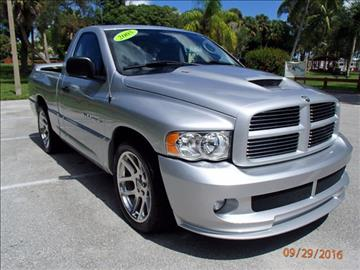 2005 Dodge Ram Pickup 1500 SRT-10 for sale in Stuart, FL
