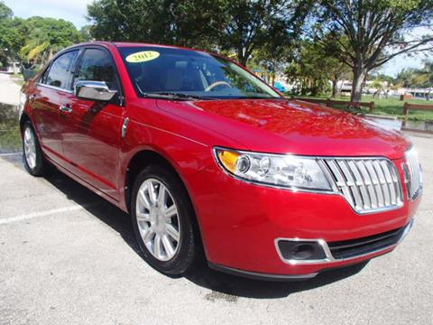 2012 Lincoln MKZ for sale in Stuart, FL