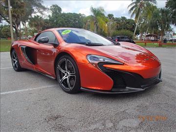 2016 McLaren 650S Spider for sale in Stuart, FL