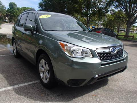 2015 Subaru Forester for sale in Stuart, FL
