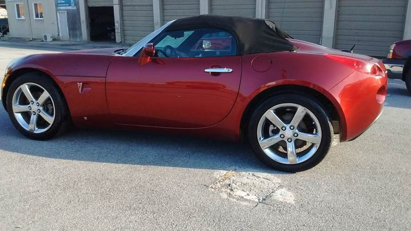 2009 PONTIAC SOLSTICE BASE 2DR CONVERTIBLE maroon abs - 4-wheel airbag deactivation - occupant s