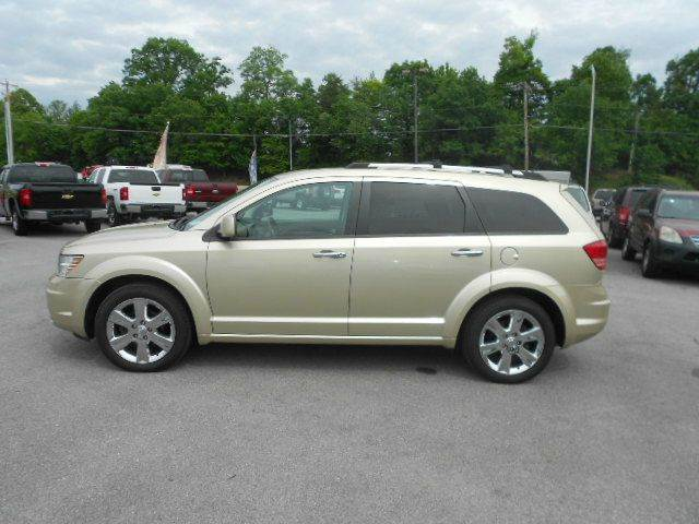 2010 DODGE JOURNEY RT AWD 4DR SUV champagne 2-stage unlocking doors 4wd type - on demand abs -