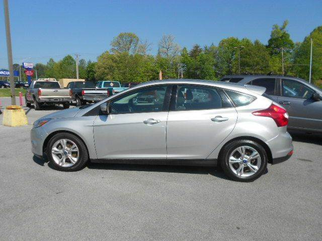 2012 FORD FOCUS SE 4DR HATCHBACK silver abs - 4-wheel air filtration airbag deactivation - occu