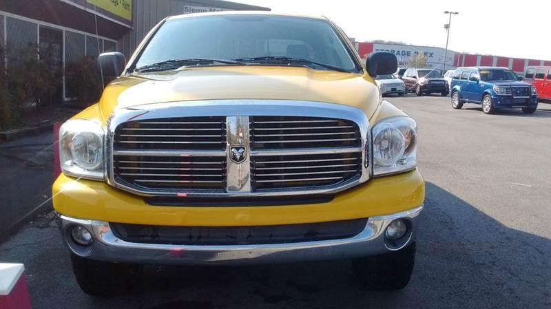 2007 Dodge Ram Pickup 1500 SLT 4dr Quad Cab 4WD SB - Kingsport TN