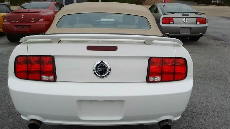2008 Ford Mustang GT Deluxe 2dr Convertible - Kingsport TN