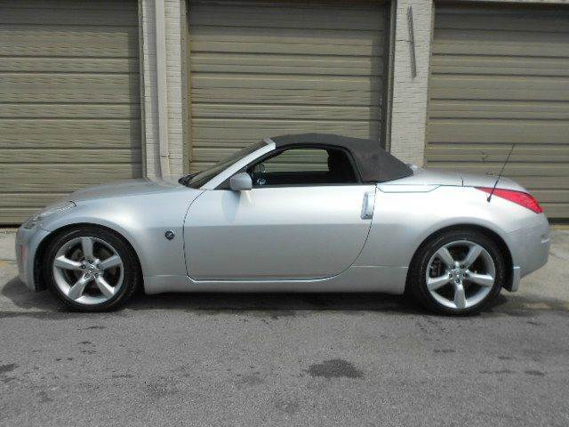 2007 NISSAN 350Z TOURING 2DR CONVERTIBLE 35L V6 silver extra niceone owner vehicle 2-stage