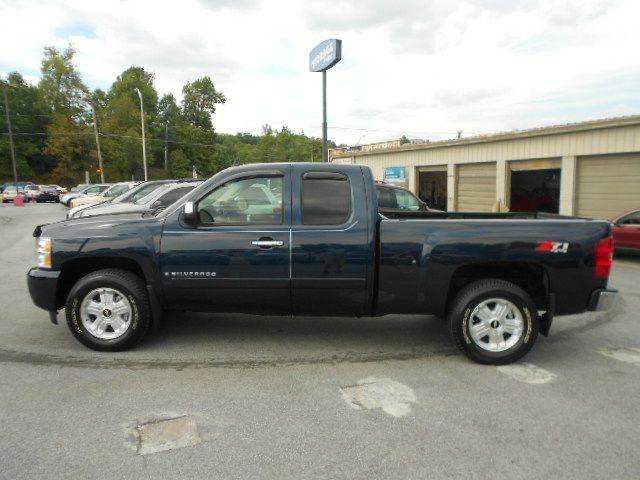 2008 CHEVROLET SILVERADO 1500 LT1 4WD 4DR EXTENDED CAB 65 FT blue 4wd type - part time w on de