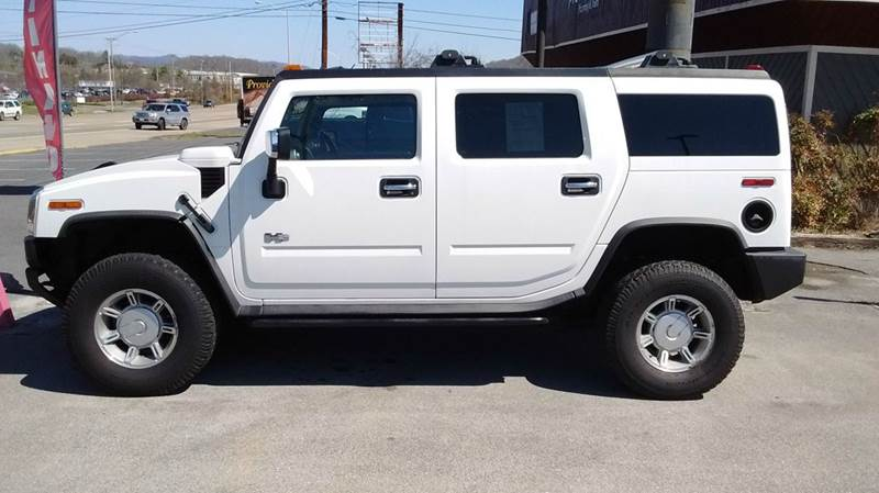 2003 HUMMER H2 LUX SERIES 4DR 4WD SUV white 4wd selector - electronic hi-lo abs - 4-wheel anti-