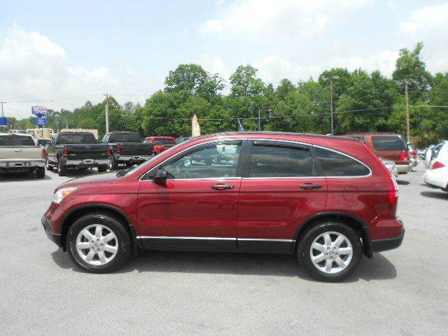 2008 HONDA CR-V EX 4DR SUV maroon 2-stage unlocking - remote abs - 4-wheel air filtration airb