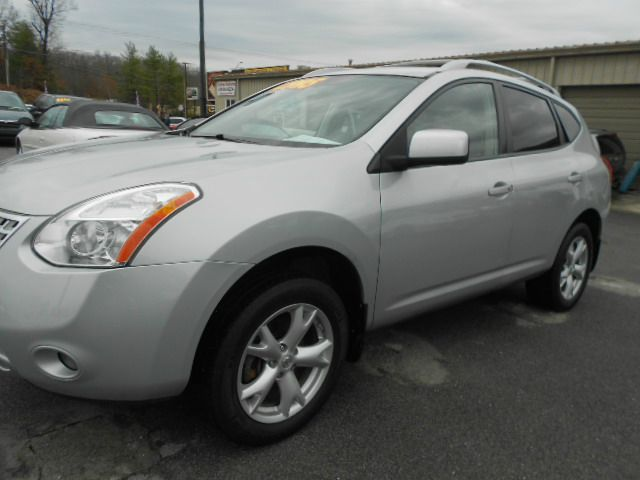 2008 NISSAN ROGUE SL AWD CROSSOVER 4DR silver abs - 4-wheel active head restraints - dual front
