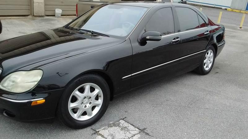 2002 MERCEDES-BENZ S-CLASS S 500 4DR SEDAN black abs - 4-wheel anti-theft system - alarm casset