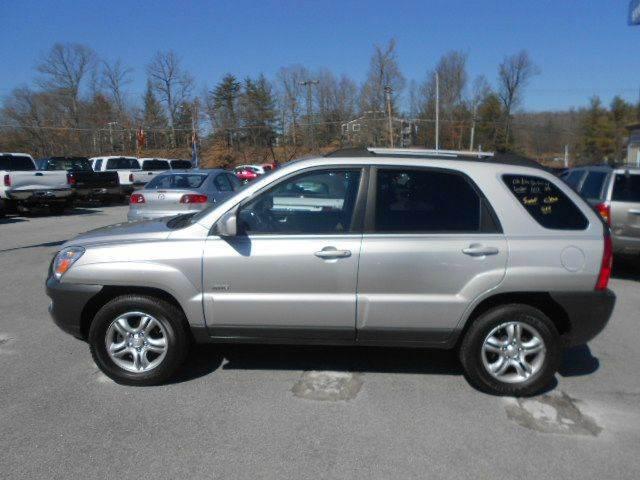 2006 KIA SPORTAGE EX 4DR SUV 4WD silver 4wd type - on demand abs - 4-wheel antenna type anti-t