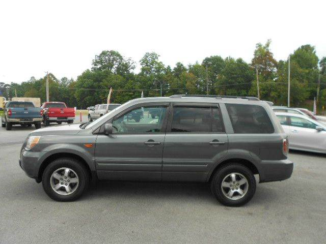 2007 HONDA PILOT EX-L WDVD 4DR SUV 4WD WDVD gray 2-stage unlocking - remote 4wd type - on dema