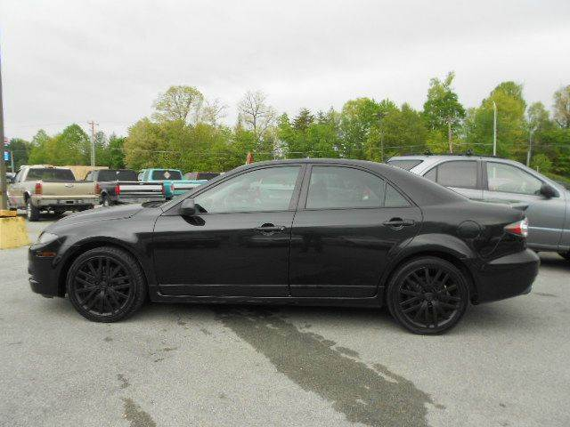 2007 MAZDA MAZDASPEED6 GRAND TOURING AWD 4DR SPORT SEDA black 2-stage unlocking - remote 4wd typ