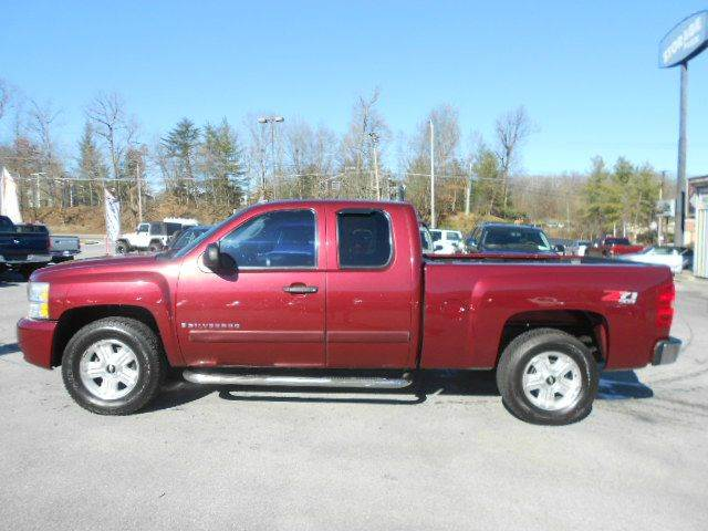 2008 CHEVROLET SILVERADO 1500 LTZ 4WD 4DR EXTENDED CAB maroon 4wd type - part time w on demand s