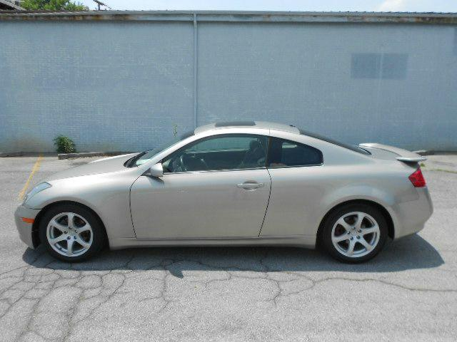 2003 INFINITI G35 BASE 2DR COUPE WLEATHER silver 18 inch wheels abs - 4-wheel alloy wheels ant