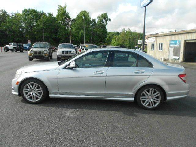 2008 MERCEDES-BENZ C-CLASS C300 SPORT 4DR SEDAN silver abs - 4-wheel active head restraints - du
