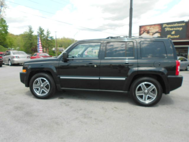 2008 JEEP PATRIOT LIMITED 4X4 4DR SUV WCJ1 SIDE A black 2-stage unlocking - remote 4wd type - f