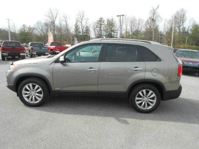 2011 KIA SORENTO EX AWD 4DR SUV V6 gray 2-stage unlocking doors 4wd type - on demand abs - 4-w