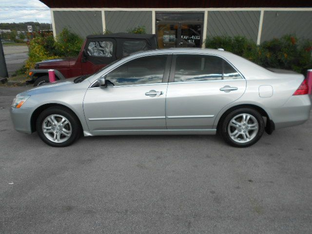2007 HONDA ACCORD EX-L 4DR SEDAN silver 2-stage unlocking - remote abs - 4-wheel air filtration