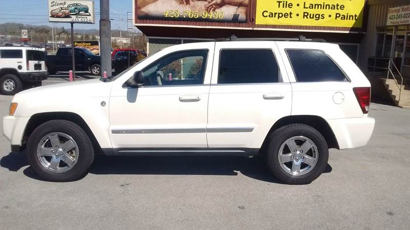 2007 JEEP GRAND CHEROKEE LIMITED 4X4 4DR CROSSOVER white 2-stage unlocking doors 4wd selector -