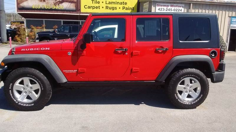 2008 Jeep Wrangler Unlimited Rubicon 4x4 4dr SUV w/Side Airbag Package - Kingsport TN