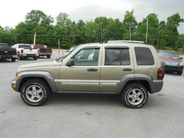2006 JEEP LIBERTY SPORT 4DR SUV 4WD green 4wd selector - manual hi-lo 4wd type - part time abs
