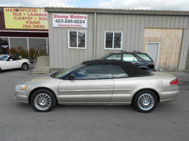 2005 CHRYSLER SEBRING TOURING 2DR CONVERTIBLE tan value pricing and the stylish exterior make thi
