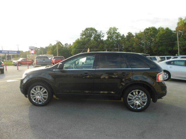 2010 FORD EDGE LIMITED AWD 4DR SUV black 2-stage unlocking - remote 4wd type - on demand abs -