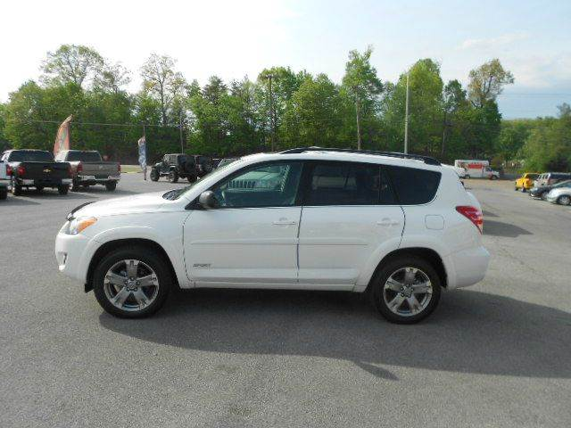 2011 TOYOTA RAV4 SPORT 4X4 4DR SUV white 4wd type - on demand abs - 4-wheel air filtration air