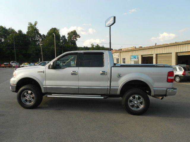 2006 LINCOLN MARK LT BASE 4DR SUPERCREW 4WD SB silver 4wd type - part time abs - 4-wheel adjust
