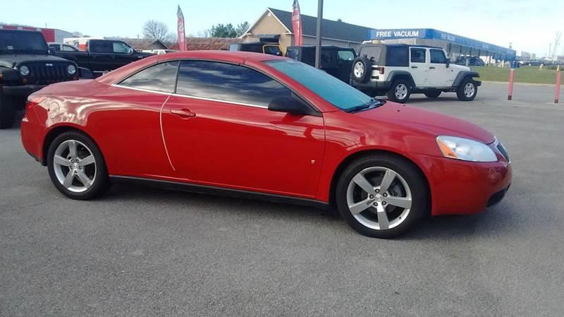 2007 Pontiac G6 GT 2dr Convertible - Kingsport TN