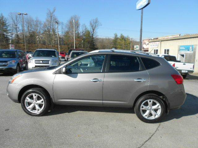 2010 NISSAN ROGUE SL AWD 4DR CROSSOVER gray 2-stage unlocking doors 4wd type - on demand abs -