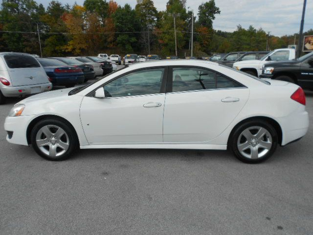 2009 PONTIAC G6 BASE 4DR SEDAN white 2-stage unlocking abs - 4-wheel anti-theft system - engine